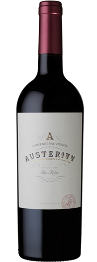 Austerity Wine Cabernet Sauvignon Paso Robles