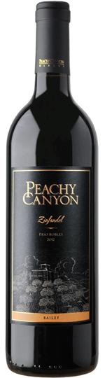 Peachy Canyon Winery Bailey Zinfandel