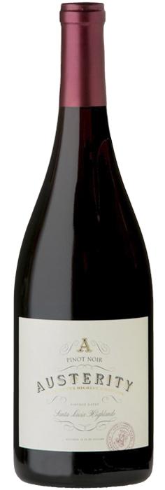 オーステリティ ワイン ピノ・ノワール サンタ・ルシア・ハイランズ