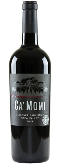 Ca'Momi Cabernet Sauvignon Napa Valley