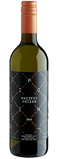 Supernatural Wine Co. Pacific Potion Amber Pinot Gris